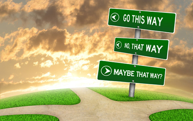 delay tactic - confusing crossroads