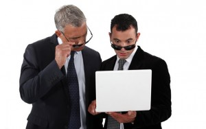 cyber security pros investigating